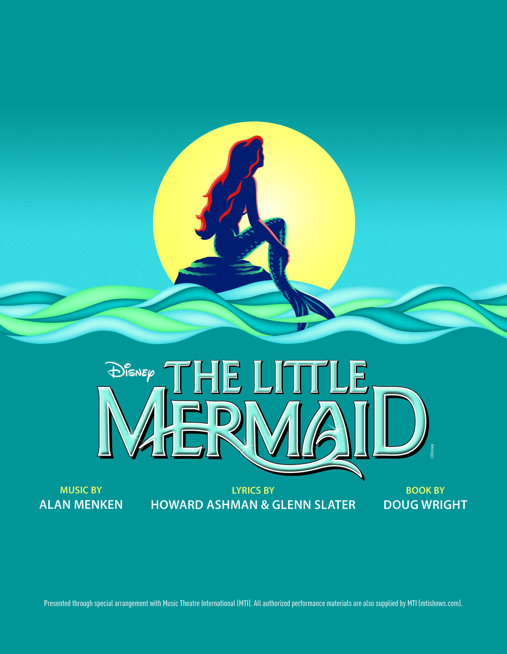 Image result for the little mermaid the musical MTI